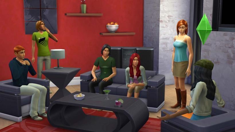 Первые скриншоты Симс 4 (The Sims 4)