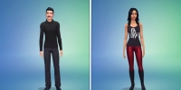 The Sims 4 Одежда